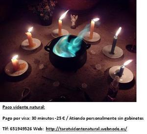 TAROT VIDENTE NATURAL SIN GABINETES (PACO) - Madrid