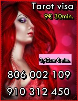 TAROT VISA OFERTAS ESPECIALES 5 € 15 min..9 € 30min 910