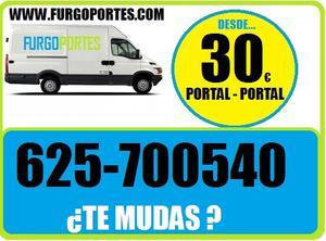 (**TE MUDAS**)91-/ALUCHE PORTES Y MUDANZA - Madrid