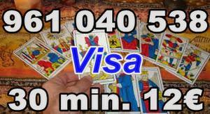 Tarot 12 euros los 30 minutos. - Barcelona