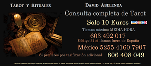 Tarot David solo 10 euros media hora - Barcelona
