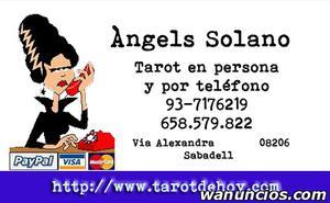 Tarot tradicional en persona en Sabadell con Angels -
