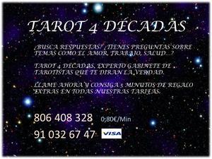 Tarot y Videncia 4 décadas, respondemos a tus dudas -