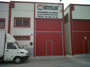 Transporte de Motos GRUPO MOTOTRANS - Madrid