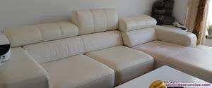 Vendo sofa en polipiel