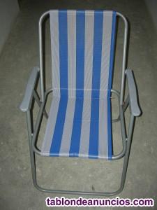 Vendo tres sillas de playa.