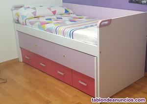 Venta cama y armario para habitación juvenil