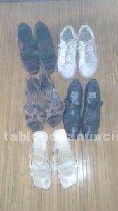 Zapatos de mujer (5 pares) talla 41 por 10 euros