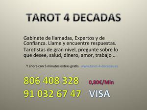 amor, trabajo, salud? Tarot 4 Décadas - Barcelona