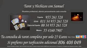 consultas de tarot con samuel y rituales - Madrid