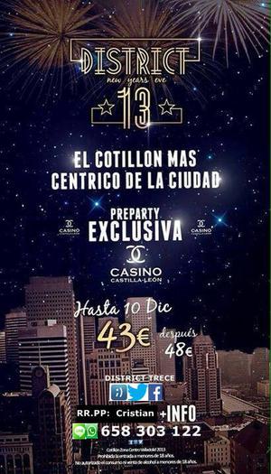 cotillon district 13 valladolid - Valladolid