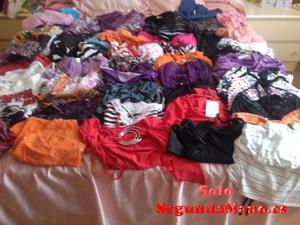 lote de 63 camisetas de chica joven