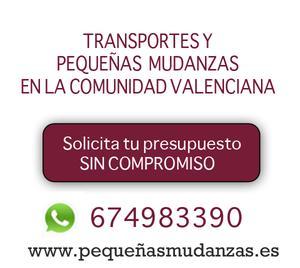 pequeñasmudanzas.es Mudanzas rapidas valencia - Valencia