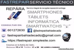 reparación de Smartphones, Tablets, Informática, drones y