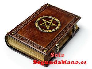Agenda, libro de las sombras, super lujo para tus magias