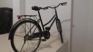 Bicicleta de Paseo de color negro