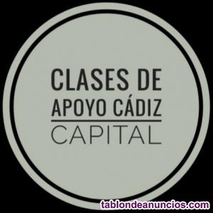 Clases de apoyo primaria cadiz capital