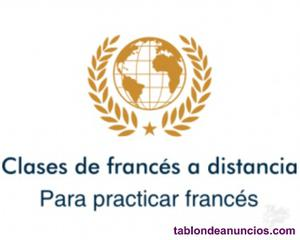 Clases de francés a distancia