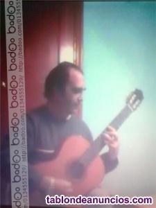 Clases de guitarra clasica y flamenco