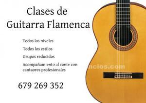 Cursos de guitarra flamenca
