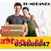 EXCELENTE SERVICIO DE MUDANZAS  PORTES ASCAO