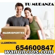 EXCELENTE SERVICIO DE MUDANZAS  PORTES ASCAO -