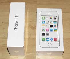 Iphone 5S 64GB blanco oficialmente
