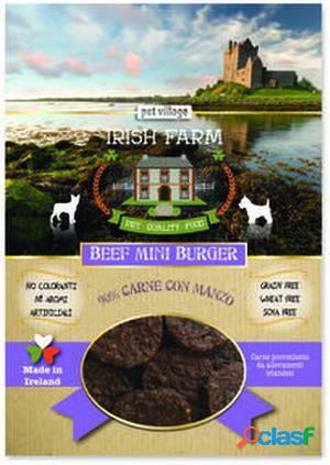 Irish Farm Mini Burger de Ternera Snack para Perros 100 gr