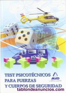 Libro test psicotecnicos para fuerzas y cuerpos de seguridad