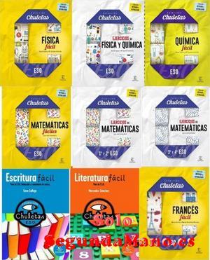 Libros Chuletas para la ESO. Nuevos