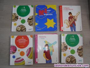 Libros de 4º eso. 15 euros unidad. En muy buen estado.