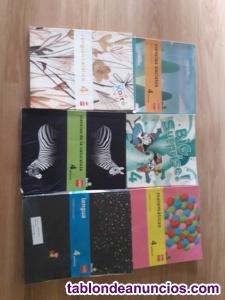 Libros de 4° y 6° de primaria ed. Sm
