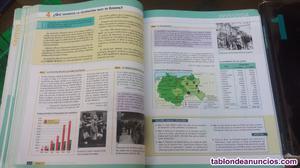 Libros de texto 1° bachillerato sociales