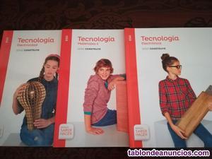 Libros tecnologia 3º eso