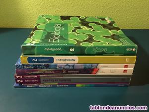 Lote de libros 2º de bachillerato