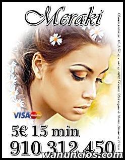 MEJORES OFERTAS EN TAROT VISA 5 € 15 min. 7€ 20 min.9