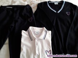 Pantalón y jersey del colegio amor de dios