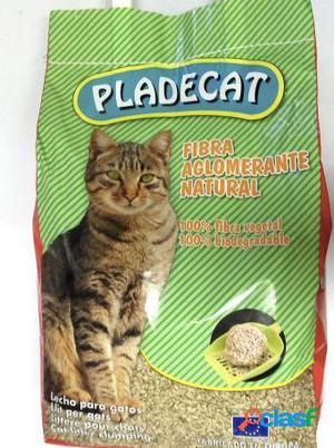Pladevall Arena para Gatos Fibra Aglomerante Pladecat 10 L 4