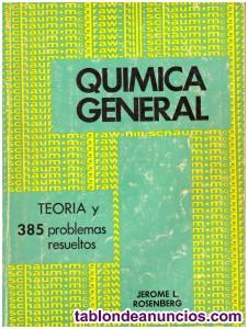 Problemas de química general. Jerome l. Rosenberg.