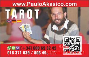 TAROT SIN RODEOS, SINCERO Y FIABLE PAULO AKASICO