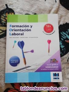 Vendo libro de formación y orientación laboral