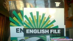 Vendo libro de ingles english file,editorial oxford nivel
