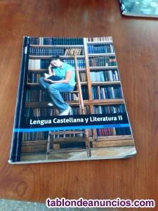 Vendo libro de lengua castellana de 2º de bachillerato