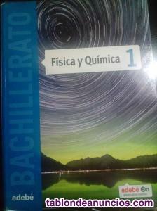 Vendo libro fisica y quimica de 1º de bachillerato