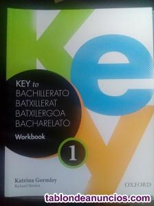 Vendo libro workbook de 1º de bachillerato