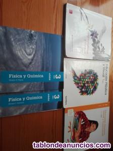 Vendo libros de 1° y 3° e.s.o