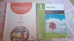 Vendo libros de 1°bachillerato de ciencias sociales