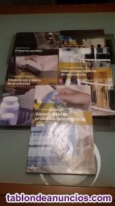 Vendo libros grado medio farmacia (primero)