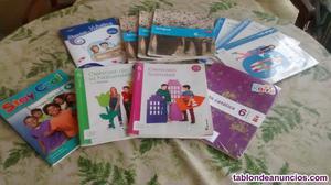 Venta de libros de texto de sexto de primaria
