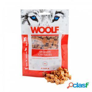 Woolf Snack para Perros de Salmón 100 gr